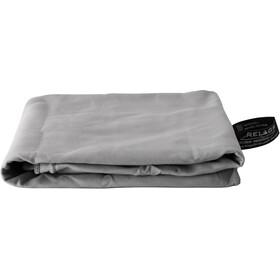 Basic Nature Velour Håndklæde 60x120cm, grå